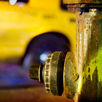 Hydrant In The City